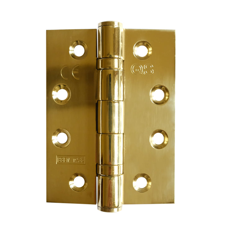 Pair Brass Bearing Hinge 100x75x3