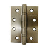 Pair Brass Antique Bearing Hinge 100x75x3