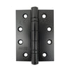 Pair Black Bearing Hinge 100x75x3