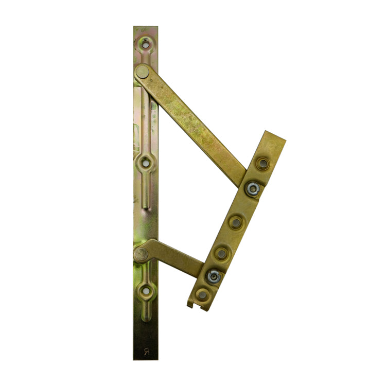 4 Bar Friction Hinge Yellow Passivated Steel 45 Degree (Pair)