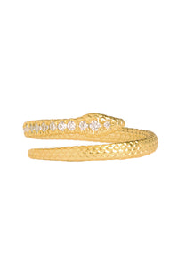 PYTHON RING WITH GEMS