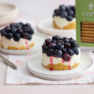Blueberry-Corn Biscuit Terrine