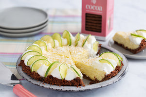 America's Test Kitchen Key Lime Pie with Effie's Cocoa Biscuit Crust
