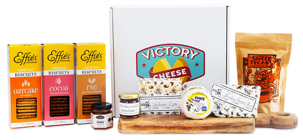 Victory Cheese Box by Effie's and Saxelby Cheesemongers