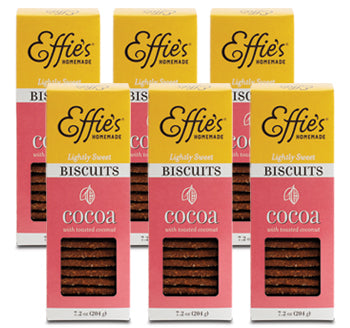 Effie's Homemade Cocoa Biscuits