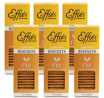 Rye Biscuits - 6 Pack
