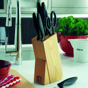 Richardson Sheffield Laser Cusine 6 Piece Knife Block Set