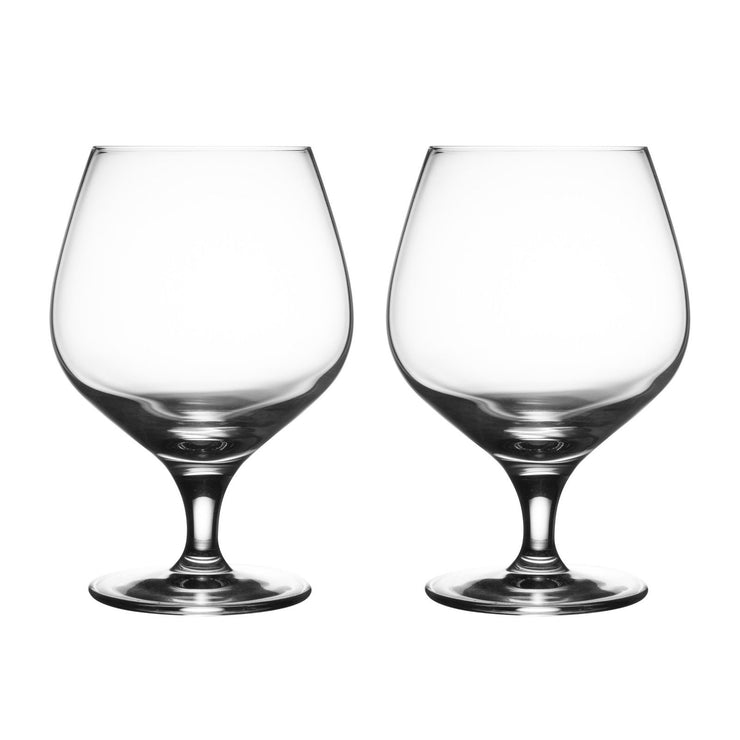 Ravenhead Finesse Set of 2 Brandy Cognac Glasses 53 cl Capacity