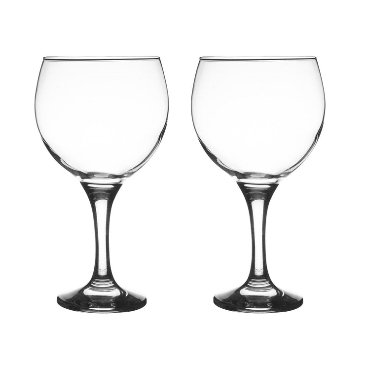 Ravenhead Entertain Set of 2 Large Bowl Gin Balloon Glasses 65 cl Capacity