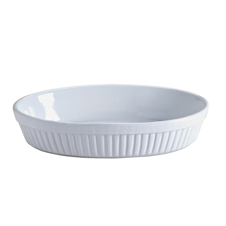 Mason Cash Classic Collection 28cm White Oval Baking and Serving Dish