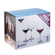 Ravenhead Cabernet Set of 6 Red Wine 44 cl Goblet Glasses for the Price of 4