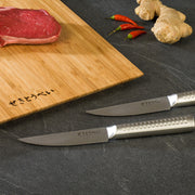 Sekitobei Set of 2 Japanese Stainless Steel Steak Knives