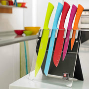 Richardson Sheffield Love Colour Original 5 Piece Knife Block Set