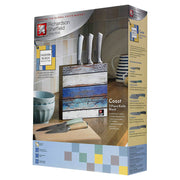 Richardson Sheffield Fusion Fashion Coast 5 Piece Kitchen Knife Block Set