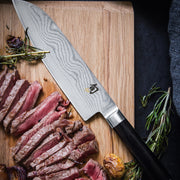 Kai Shun Classic Series 32 Layer Stainless Damascus Steel 20cm Chefs Knife