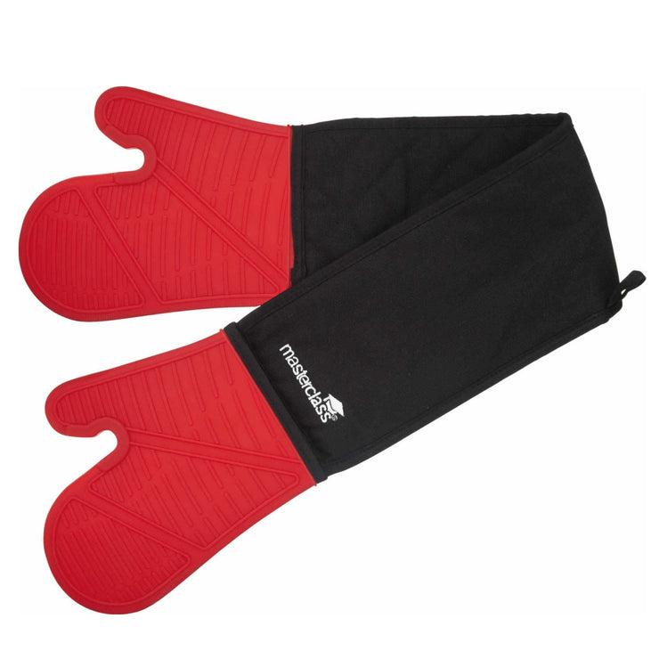 Kitchencraft MasterClass Seamless Silicone Double Oven Glove