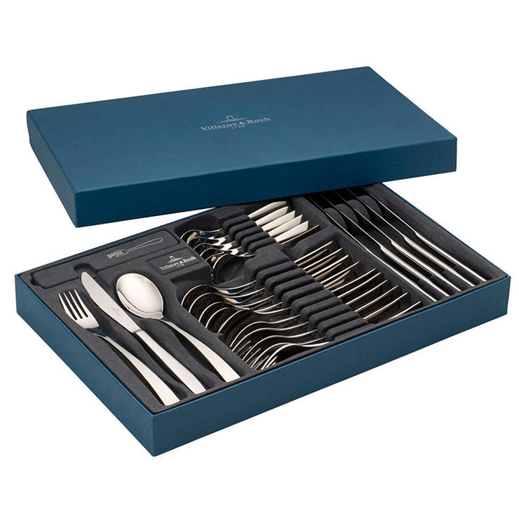 Villeroy & Boch Modern Grace 24 Piece 18/10 Stainless Steel Cutlery Set
