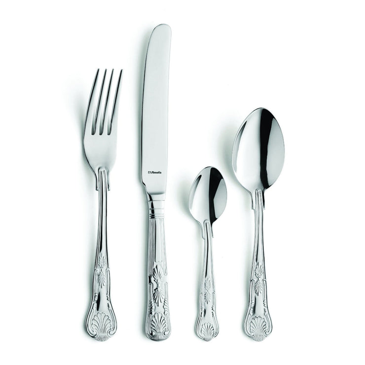 Amefa Kings 16 Piece Stainless Steel Cutlery Set