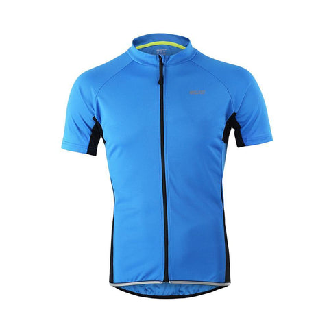 ARSUXEO Outdoor Sports Men's Slim Fit Short Sleeve Cycling T-Shirts