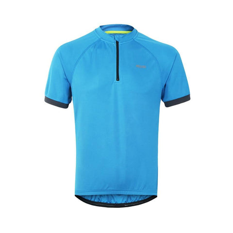 ARSUXEO Men's 1/4 Zipper Short Sleeve Summer Cycling T-Shirts