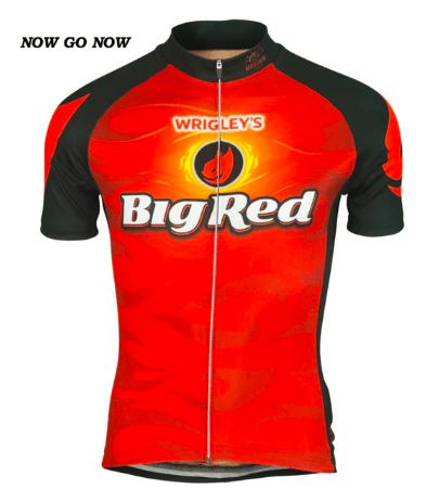 Big Red Cycling Jersey