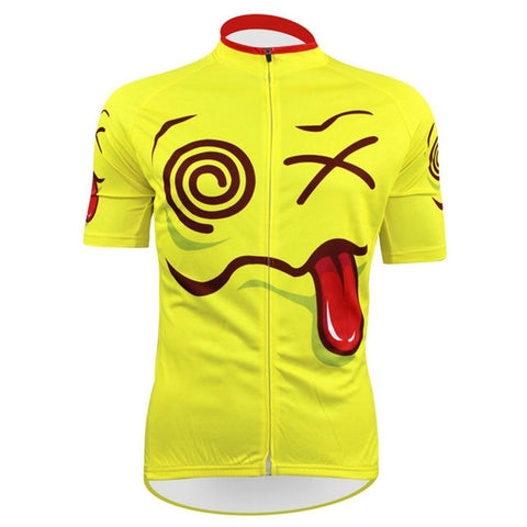 Cartoon Funny Expression Cycling Jersey