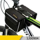 CoolChange Bicycle Bags & Panniers 1200904 / China CoolChange Cycling Front Frame Bag Tube Pannier Double Pouch