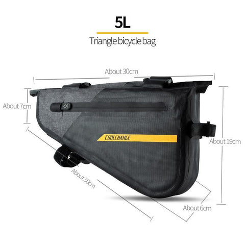 CoolChange Cycling Waterproof Pannier Portable Tools Bag