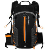CoolChange Cycling Backpack Orange CoolChange Cycling Ultralight Waterproof Portable Folding Backpack