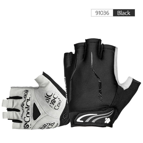 CoolChange Cycling Half Finger Shockproof Bike Gloves