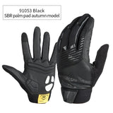 CoolChange Cycling Gloves 91053 Black Autumn / M CoolChange Cycling Winter Thermal Waterproof Long Finger Touch Screen Gloves