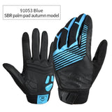 CoolChange Cycling Gloves 91053 Blue Autumn / M CoolChange Cycling Winter Thermal Waterproof Long Finger Touch Screen Gloves