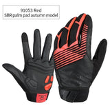 CoolChange Cycling Gloves 91053 Red Autumn / M CoolChange Cycling Winter Thermal Waterproof Long Finger Touch Screen Gloves