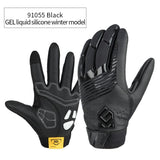 CoolChange Cycling Gloves 91055 Black Winter / M CoolChange Cycling Winter Thermal Waterproof Long Finger Touch Screen Gloves
