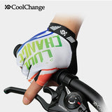 CoolChange Cycling Gloves CoolChange Cycling Half Finger Gel Summer Gloves