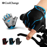 CoolChange Cycling Gloves CoolChange Cycling Half Finger Shockproof Bike Gloves