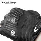 CoolChange Cycling Gloves CoolChange Cycling Shockproof Breathable Half Finger Anti-sweat Anti-slip Bike Gloves