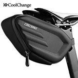 CoolChange Cycling Saddle Bag Waterproof Rear Bag