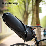 CoolChange Cycling Saddle Bag 14033 CoolChange Cycling Saddle Bag Waterproof Foldable Tail Rear Seat Bag 20L