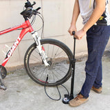 Giant Bicycle Pumps CONTROL KING GIANT Control King Bicycle Air Pump with Gauge Interchangable Valve