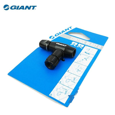 GIANT Bicycle Mount Control Blast CO2 Inflator Head Mini Pump Presta
