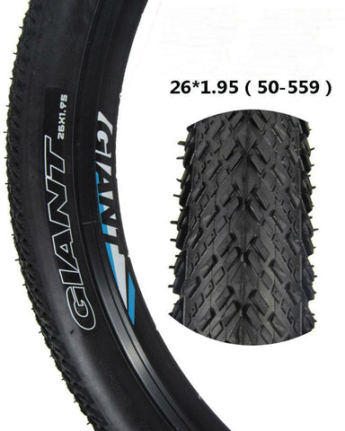 Giant Bicycle Tires 26 1.95 60TPI Ultra Light MTB Cycling Tire