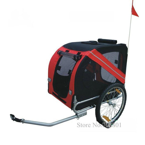 20inch Inflatable Wheel Pet Bicycle Trailer for Dogs