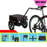 Giant Bicycle Trailers 16 inch Air Wheel Bicycle Trailer Large Capacity Enclosed