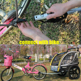 Giant Bicycle Trailers 2 In 1 Bike Trailer Toddler Stroller With Double Brake air wheel bike camper trailer
