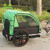 Giant Bicycle Trailers 2 Kids Child Bicycle Tow Behind Double Seat Trailer