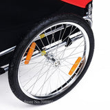 Giant Bicycle Trailers 20inch Inflatable Wheel Pet Bicycle Trailer for Dogs