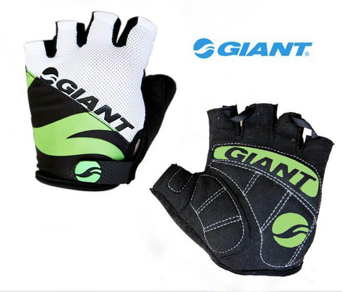 Giant Cycling Anti-slip Anti-sweat Men Women Half Finger Gloves Breathable