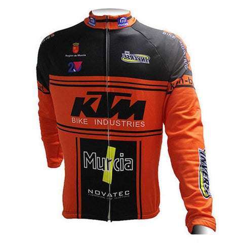 KTM Murcia Cycling Long Sleeve Jersey
