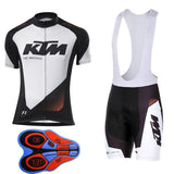 KTM Cycling Jersey Maillot Ciclismo and Cycling bib Shorts Cycling Kit